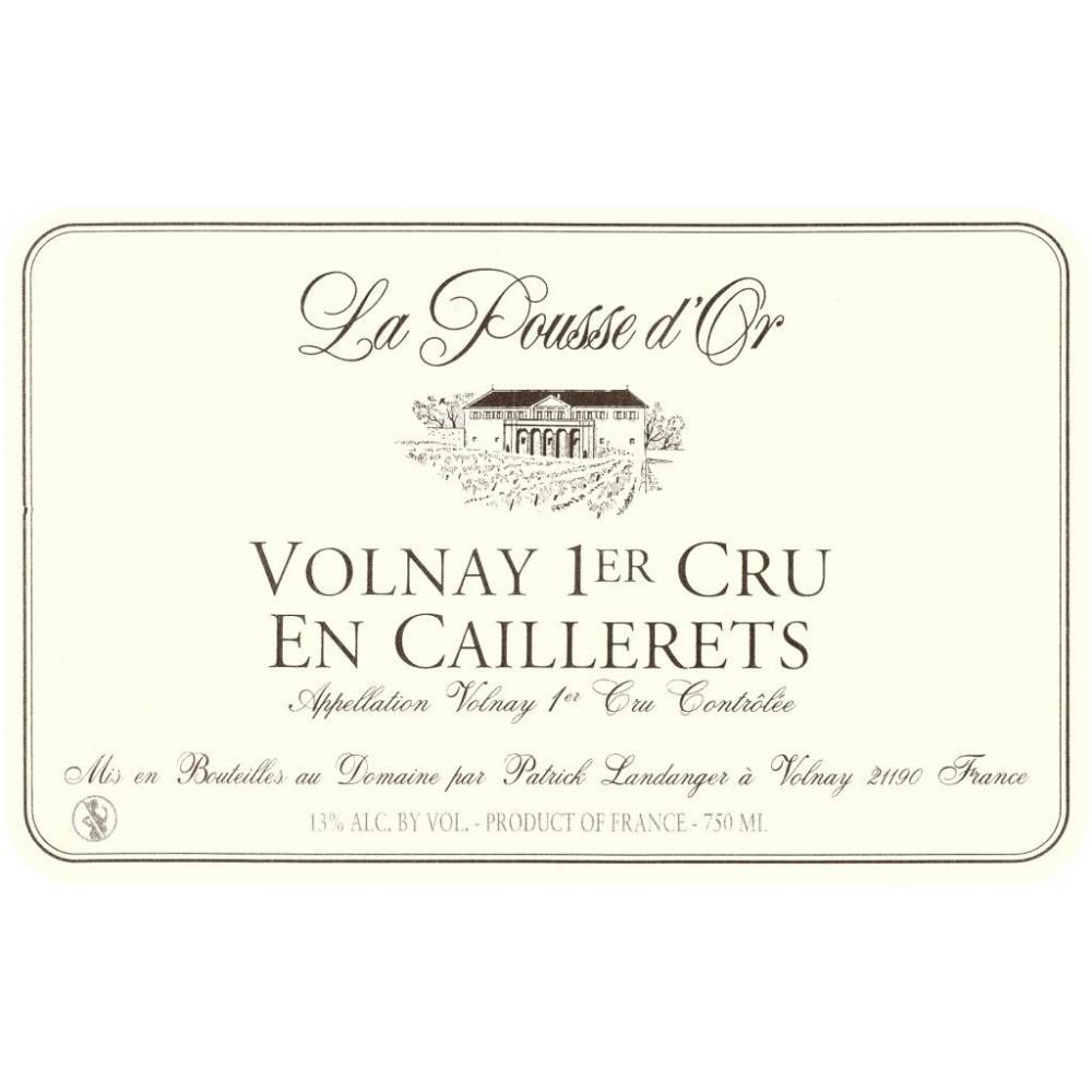 Domaine de la Pousse d'Or Volnay 1er Cru En Caillerets rouge 2006 etiquette
