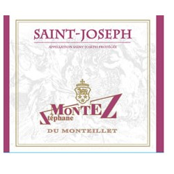 Domaine du Monteillet (Stéphane Montez) Saint-Joseph rouge 2017 etiquette