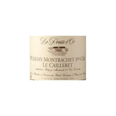 Domaine de la Pousse d'Or Puligny-Montrachet 1er Cru Le Cailleret blanc sec 2011