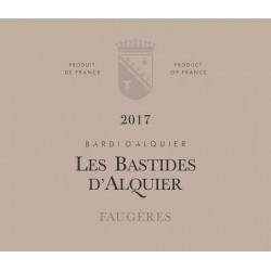 Domaine Jean Michel d'Alquier Les Bastides 2017 etiquette