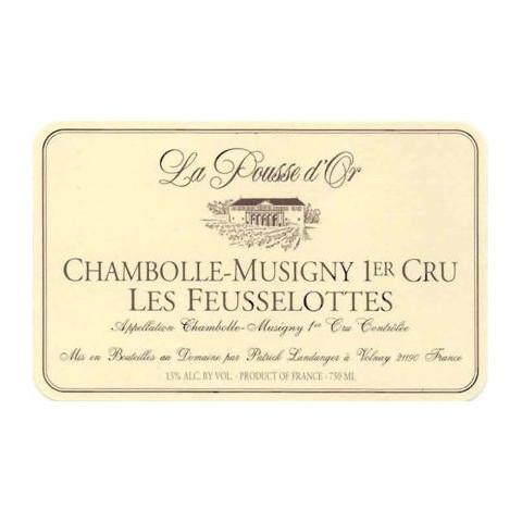 Domaine de la Pousse d'Or Chambolle-Musigny 1er cru Les Feusselottes rouge 2011 (75 cl)