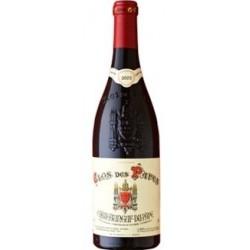 Clos des Papes Chateauneuf du Pape rouge 2017 bouteille