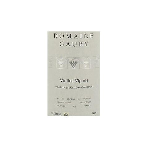 domaine gauby vieilles vignes blanc 2011
