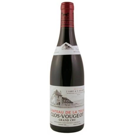 château de la Tour Clos Vougeot Grand Cru 2017 bouteille