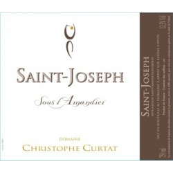 """Domaine Christophe Curtat Saint-Joseph """"Sous l'Amandier"""" dry white 2018"""