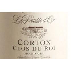 Domaine de la Pousse d'Or Corton Grand Cru Clos du Roi rouge 2017 etiquette