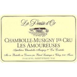 Domaine de la Pousse d'Or Chambolle-Musigny 1er cru Les Amoureuses 2017 etiquette