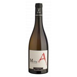 """Domaine des Gandines Viré Clessé """"Mlle Agathe"""" blanc sec 2017 bouteille"""