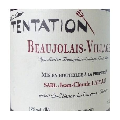 "Domaine Jean-Claude Lapalu Beaujolais Villages ""Tentation"" red 2018"