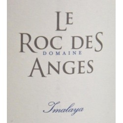 """Le Roc des Anges """"Imalaya"""" blanc sec 2018 etiquette"""