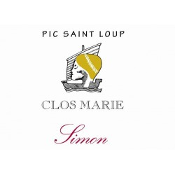 "Clos Marie - Pic Saint Loup ""Simon"" red 2017"