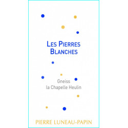 """Domaine Luneau-Papin Muscadet Sèvre et Maine """"Les Pierres Blanches"""" dry white 2017"""