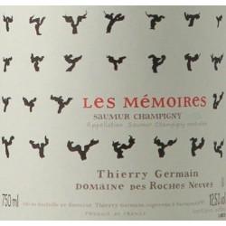 domaine des roches neuves saumur champigny les memoires 2016 etiquette