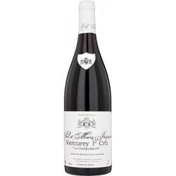 Domaine Paul et Marie Jacqueson Mercurey 1er Cru Les Champs Martin rouge 2018 bouteille