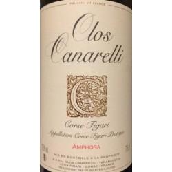 Clos Canarelli Amphora rouge 2017 etiquette