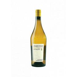 """Domaine Tissot Arbois Chardonnay """"Patchwork"""" blanc sec 2018 bouteille"""