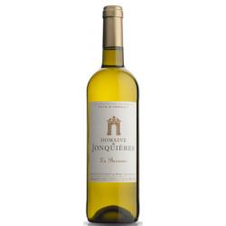 """Château de Jonquières """"La Baronnie"""" blanc sec 2018 bouteille"""