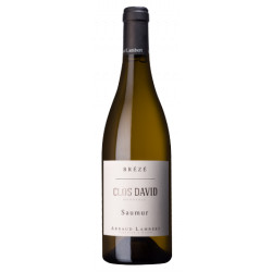 "Domaine Arnaud Lambert Saumur (Breze) ""Clos David"" blanc sec 2017 bouteille"
