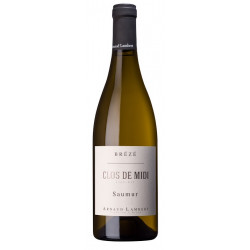 """Domaine Arnaud Lambert Saumur (Brézé) """"Clos de Midi"""" blanc sec 2019 bouteille"""