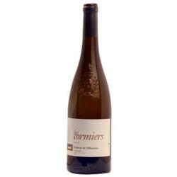 """Château de Villeneuve Saumur """"Les Cormiers"""" blanc sec 2018 bouteille"""