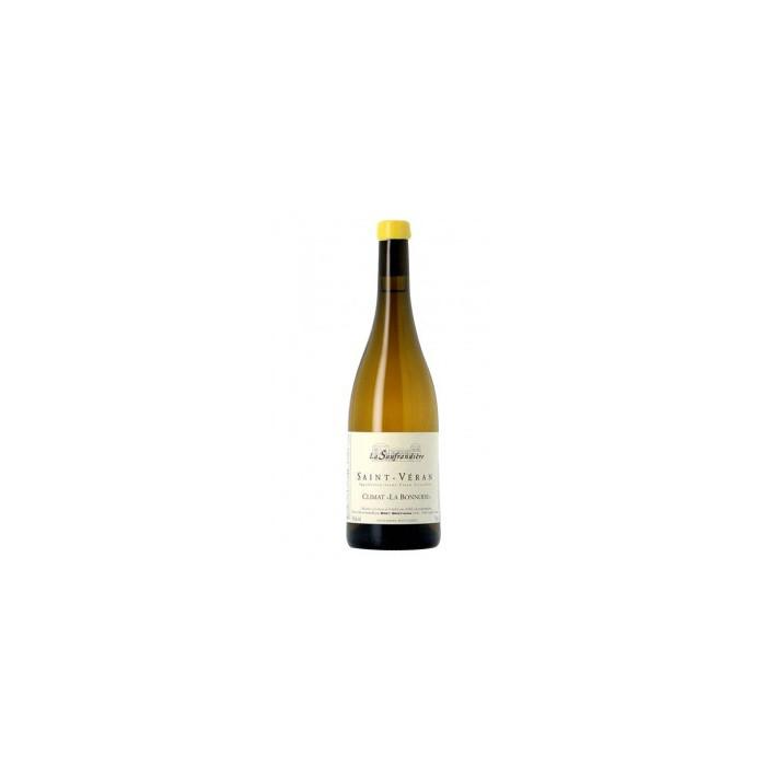 """Bret Brothers La Soufrandière Saint-Véran """"La Bonnode"""" blanc sec 2018 bouteille"""