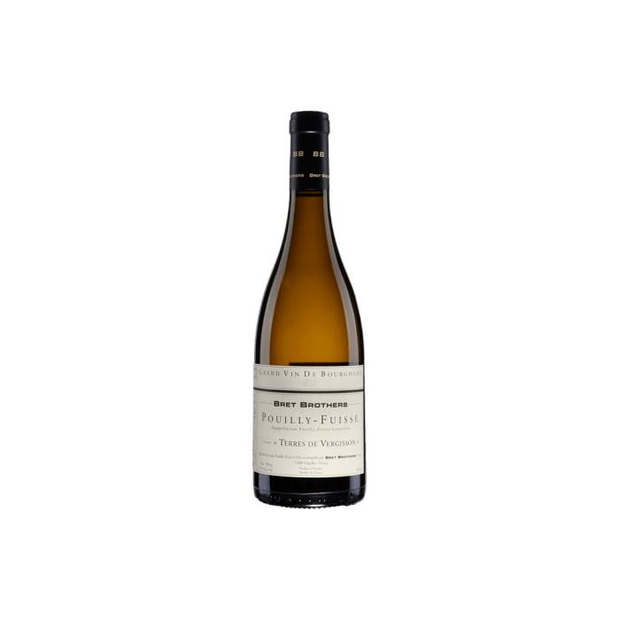 """Bret Brothers Pouilly-Fuissé """"Terres de Vergisson"""" blanc sec 2018 bouteille"""
