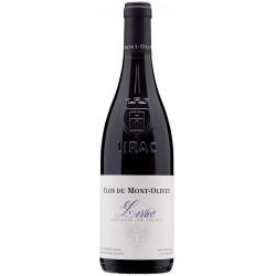 Clos du Mont-Olivet Lirac rouge 2018 bouteille