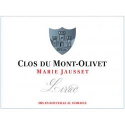 """Clos du Mont-Olivet Lirac """"Marie Jausset"""" rouge 2018 etiquette"""