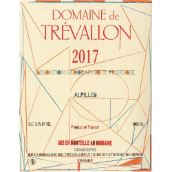 Domaine de Trévallon rouge 2017 etiquette