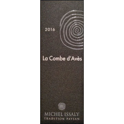 """Michel Issaly Gaillac """"Combe d'Avès"""" rouge 2016 etiquette"""