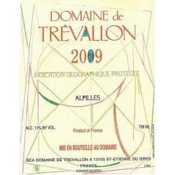 Domaine de Trévallon rouge 2009 magnum etiquette
