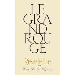"""Chateau Revelette """"Le Grand Rouge"""" 2017 magnum etiquette"""