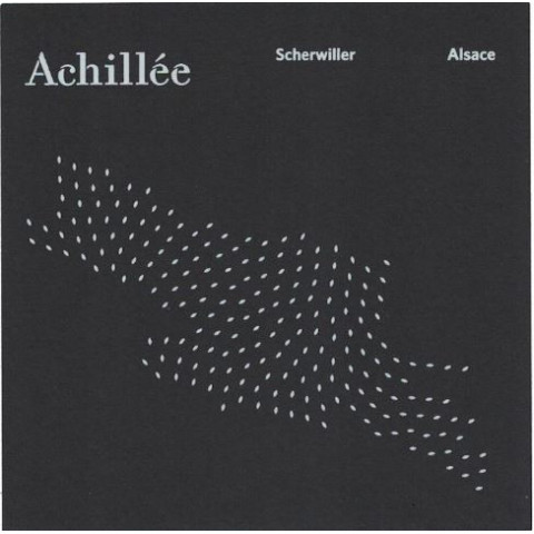 """Domaine Achillée Riesling """"Scherwiller"""" dry white 2017/18"""