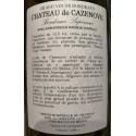 Chateau de Cazenove Bordeaux Supérieur rouge 2016 contre etiquette