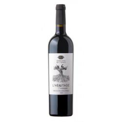 """Les Terrasses de l'Arago """"Héritage"""" rouge 2015 bouteille"""