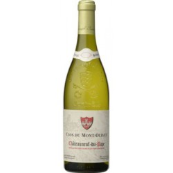 Clos du Mont-Olivet Châteauneuf-du-Pape blanc 2019 bouteille