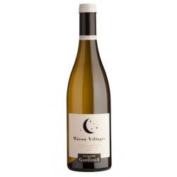 Domaine Des Gandines Mâcon Villages blanc sec 2018 bouteille