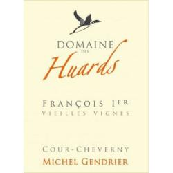 """Domaine des Huards Cour-Cheverny """"François 1er"""" blanc sec 2017 etiquette"""