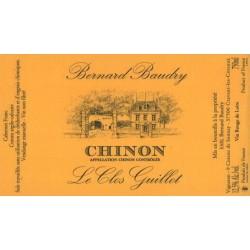 """Domaine Bernard Baudry Chinon """"Le Clos Guillot"""" rouge 2017 etiquette"""