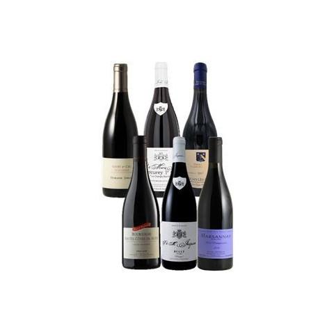 Bourgogne rouges discrets bouteilles