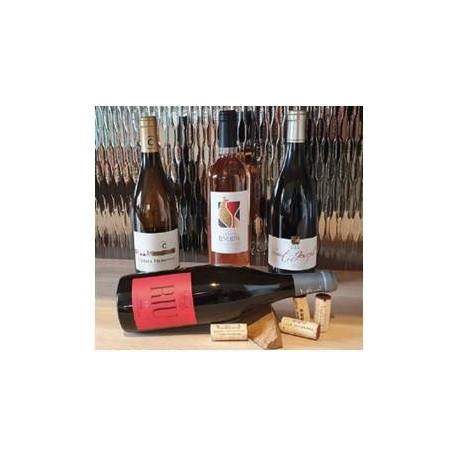 """Combier/Gerin/Fischer """"Escapade Infernale"""" rouge (12 b) bouteilles"""