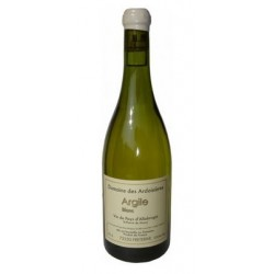"""Domaine des Ardoisieres Coteau de Saint Pierre """"Argile"""" blanc 2019 bouteille"""