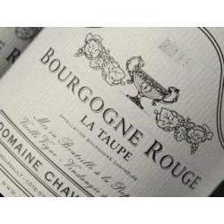 Chavy-Chouet Bourgogne La Taupe rouge 2018 etiquette