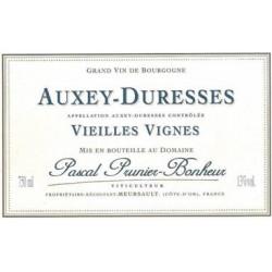 """Domaine Prunier-Bonheur Auxey Duresses """"Vieilles Vignes"""" dry white 2017"""