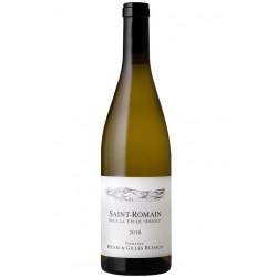 """Domaine Henri et Gilles Buisson Saint-Romain """"Sous la Velle"""" blanc sec 2018 bouteille"""