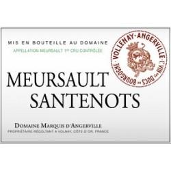 """Domaine Marquis d'Angerville Meursault 1er Cru """"Santenots"""" dry white 2013"""