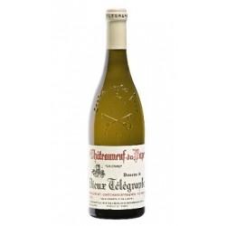 Domaine du Vieux Telegraphe Chateauneuf-du-Pape blanc 2018 bouteille