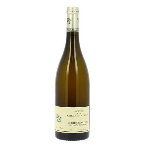 """Domaine de la Taille aux Loups Montlouis """"Les Hauts de Husseaux"""" blanc sec 2018 bouteille"""