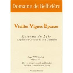 Domaine de Belliviere Vieilles Vignes Eparses blanc sec 2016 etiquette