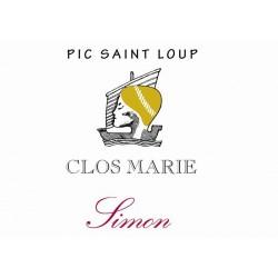 "Clos Marie - Pic Saint Loup ""Simon"" red 2018"